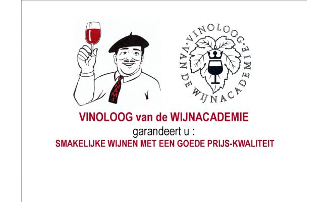 Vinoloog van de Wijnacademie